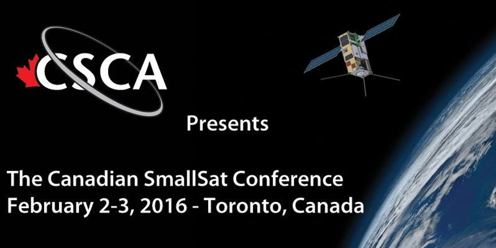 SmallSat Toronto 2016