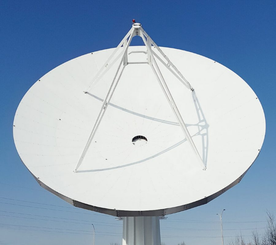 Prime Focus Antenna Systems